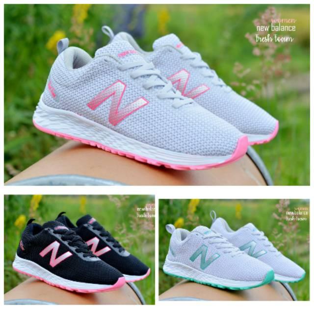Sepatu NB Perempuan New Balance Fresh Foam Woman Sepatu Olahraga Wanita  Sepatu NB Cewek keren Murah  7ef2aa3a50