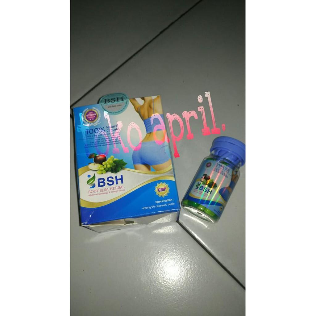 Body slim herbal BSH - obat diet pelanging penurun berat badan | Shopee Indonesia