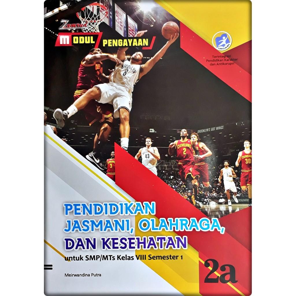 Lks Pendidikan Jasmani Olahraga Dan Kesehatan Penjas Smp Mts Kelas Viii 8 Semester 1 Zamrud Shopee Indonesia
