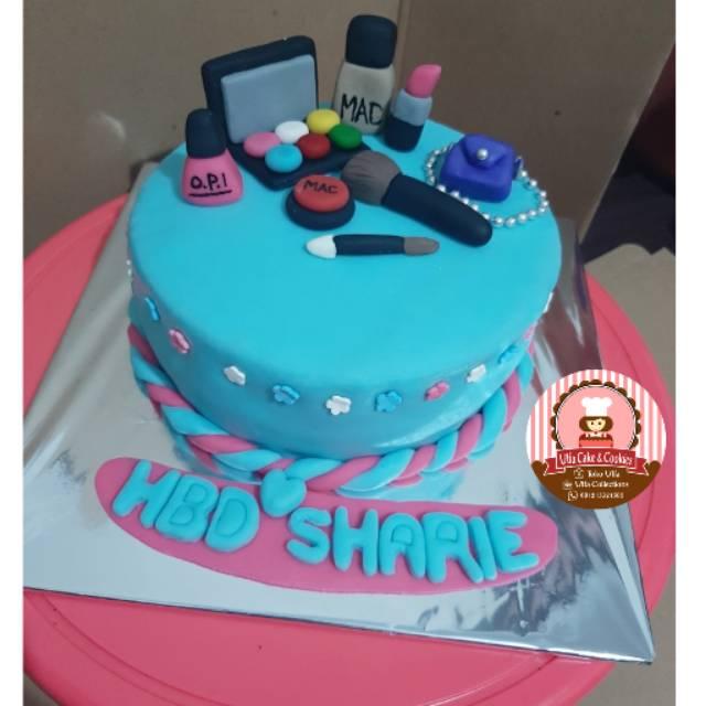 Birthday Cake Make Up Kue Ultah Makeup Custom Kue Ulang Tahun