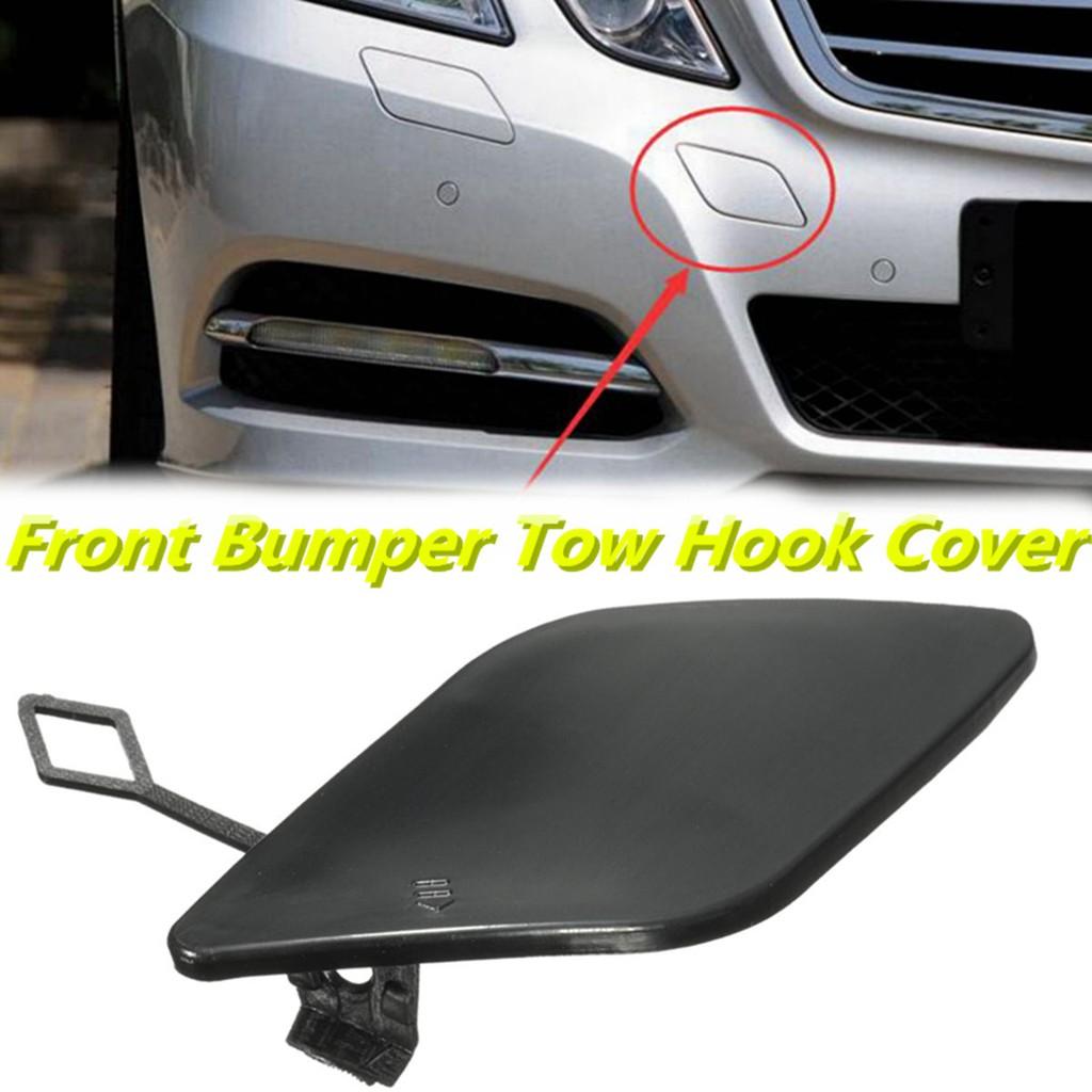 Front Bumper Tow Hook Cover Cap Fit for Mercedes Benz E-Class W212 Plastic High