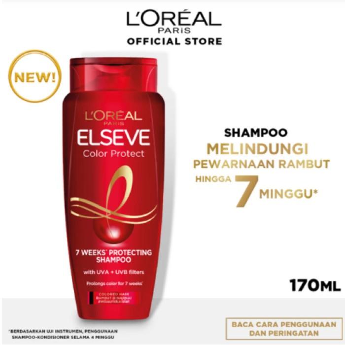 L'Oreal Paris Color Vive Protecting Shampoo Hair Care - 170 ml (Perawatan Rambut Setelah Diwarnai)