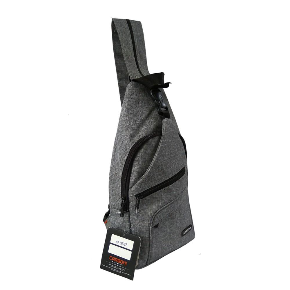 Beli Carboni Waistbag Ransel Tali Satu AA00022-10 Dobel Fungsi - Grey Harga Lebih Murah Bersama Teman | Shopee Indonesia