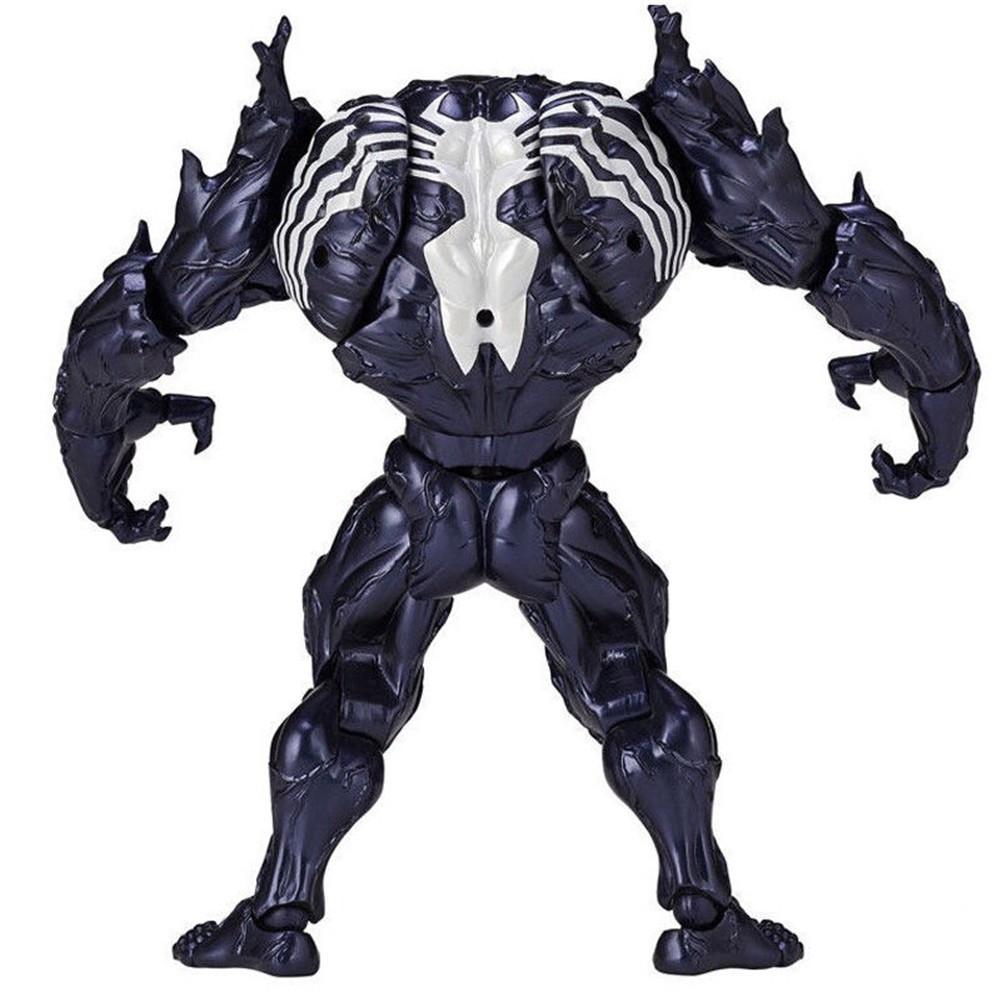 Marvel Spider Man Venom No.003 Revoltech Series PVC Action Figure Model Toy Gift