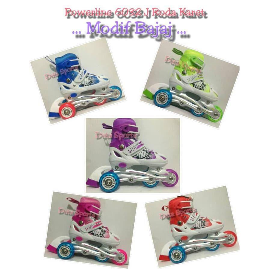 Sepatu Roda Anak Roda Karet HARGA MURAH Powerline 6032 J - Terbaru ... c3f0472e2b