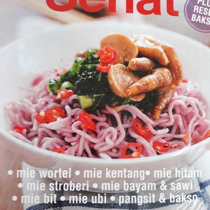 Buku Resep Makanan Enak Mudah Variasi Mie Lezat Sehat Shopee