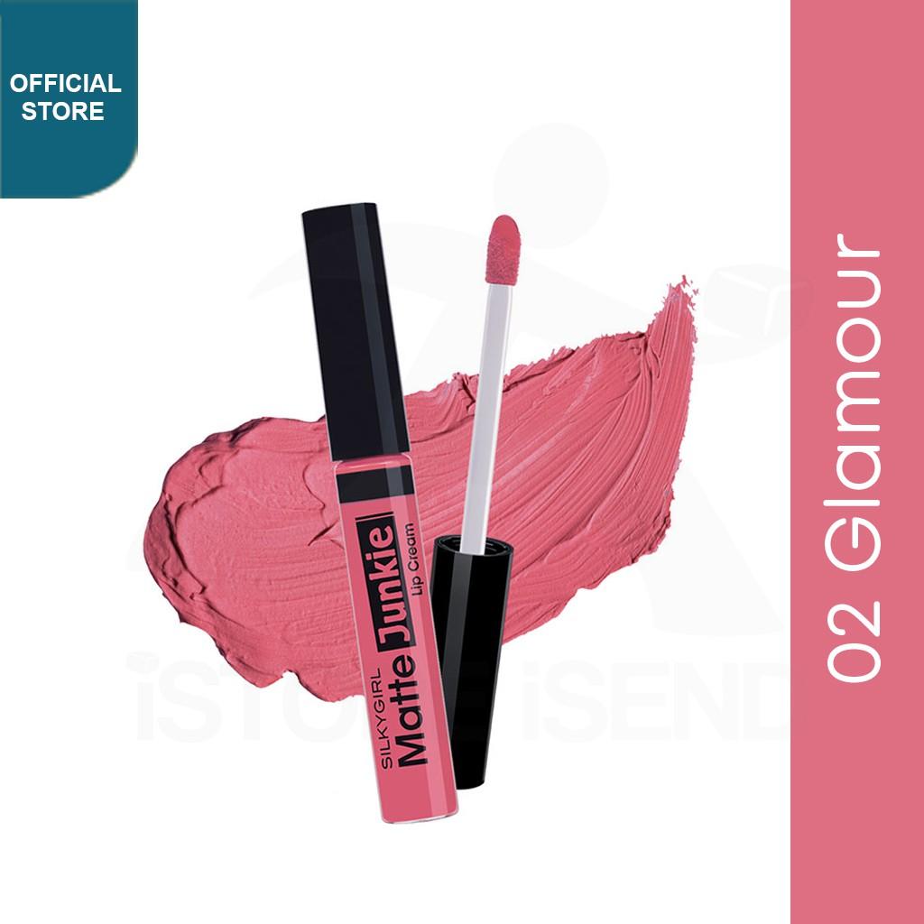 Lipstik Aura Beauty Warna Nude Lipmatte Dengan Hasil Yang Matte Viola Best Seller Lipstick Tahan Lama Dan Waterproof Shopee Indonesia