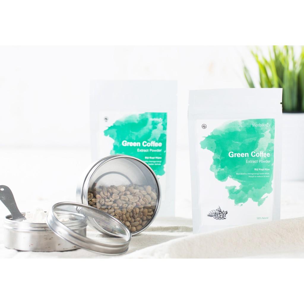 Green Coffee Bubuk Ekstrak Biji Kopi Hijau Extract Diet Pelangsing Original Powder Shopee Indonesia