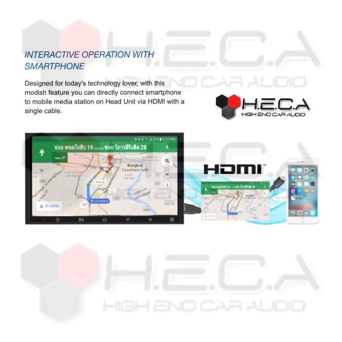 ... Hot Promo Alpine IXE-W400E Head Unit Double Din Tape Audio Mobil Mirrorlink HDMI ...