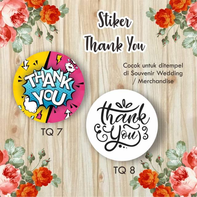 25+ Inspirasi Keren Stiker Ucapan Terima Kasih Olshop ...