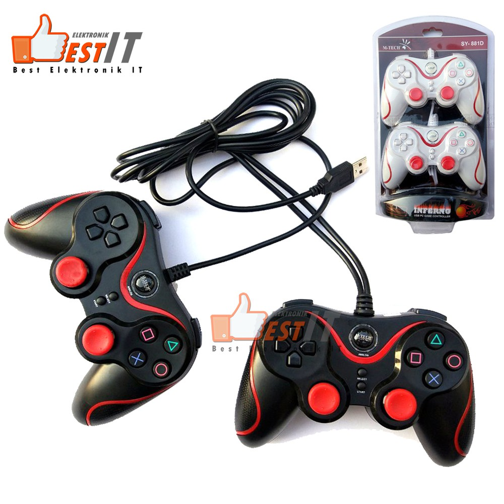 Save 19 Gaming Idiskon Mouse Wireless Slec Nc19 Silent Click Original Stick Gamepad Dual Controller Usb Pc Joystick Inferno M