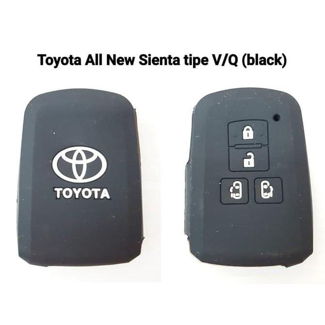 Kondom Kunci Silikon Remote Toyota All New Alphard Vellfire Hitam   Shopee Indonesia