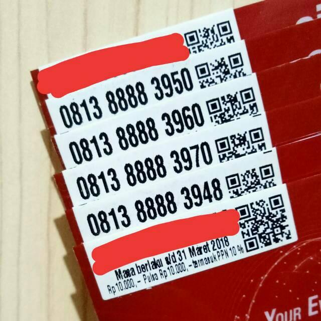 Nomor Cantik SIMPATI 4G LTE SEGEL Pulsa 10Rb Telkomsel Murah Meriah Nocan Kartu Perdana Nomer Panca