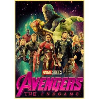 Poster Kertas Kraft Retro Desain Print Super Hero Marvel Avengers Endgame 2019 Untuk Dekorasi Cafruangan Shopee Indonesia