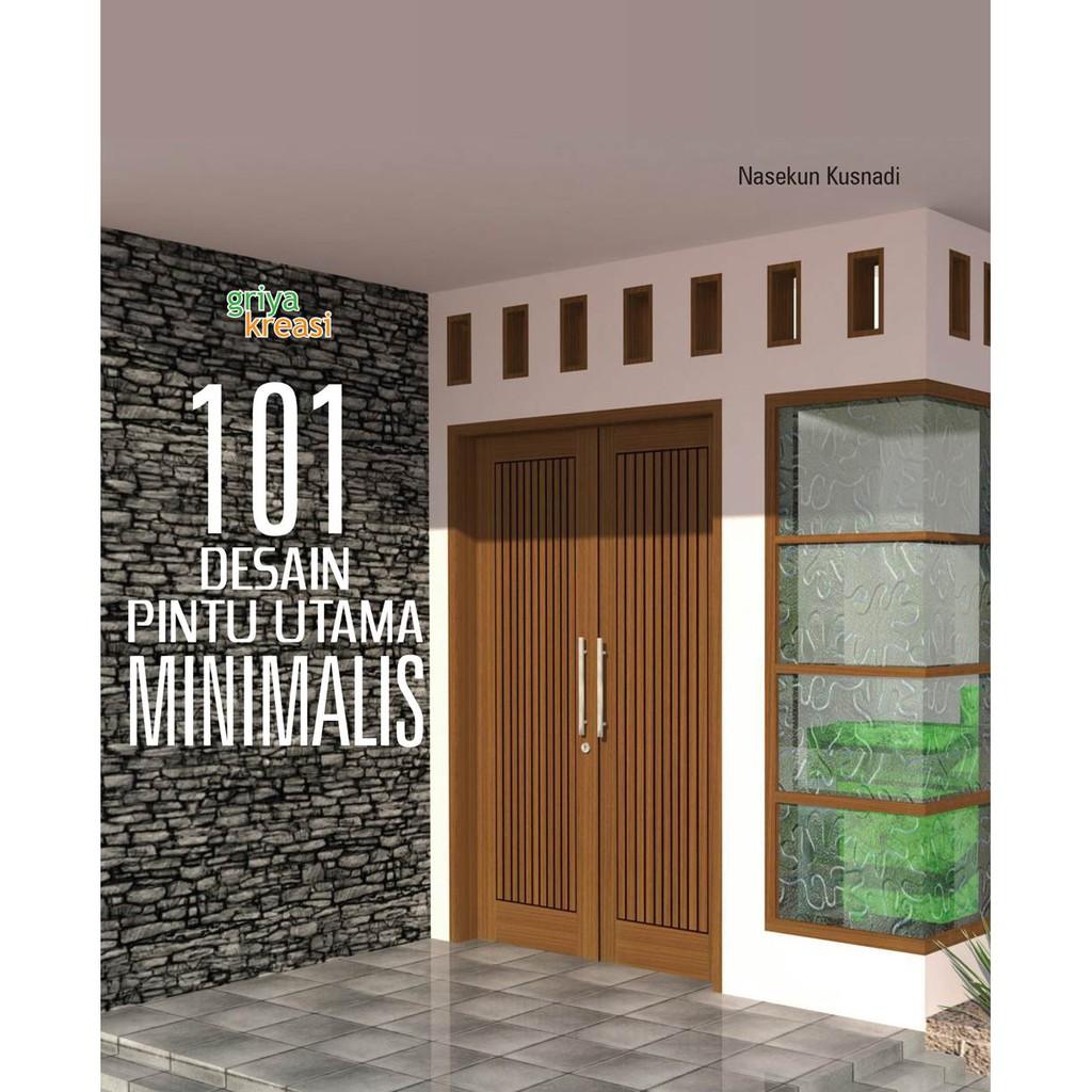 Model Pintu Belakang Rumah Minimalis