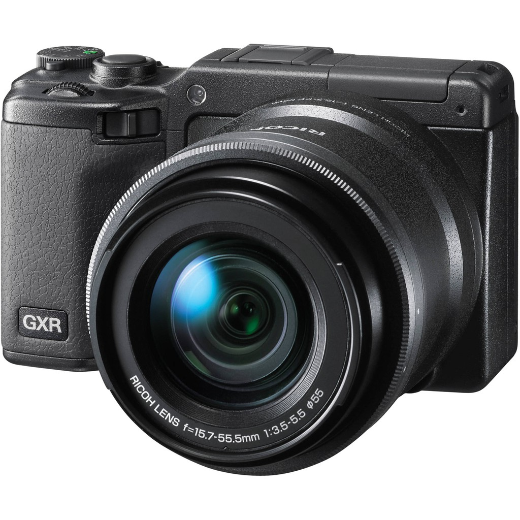 Ricoh GXR with A16 24-85mm kit - Black