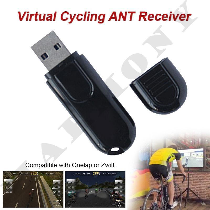 Receiver Elektronik USB Bahan ABS Tahan Lama untuk Sepeda