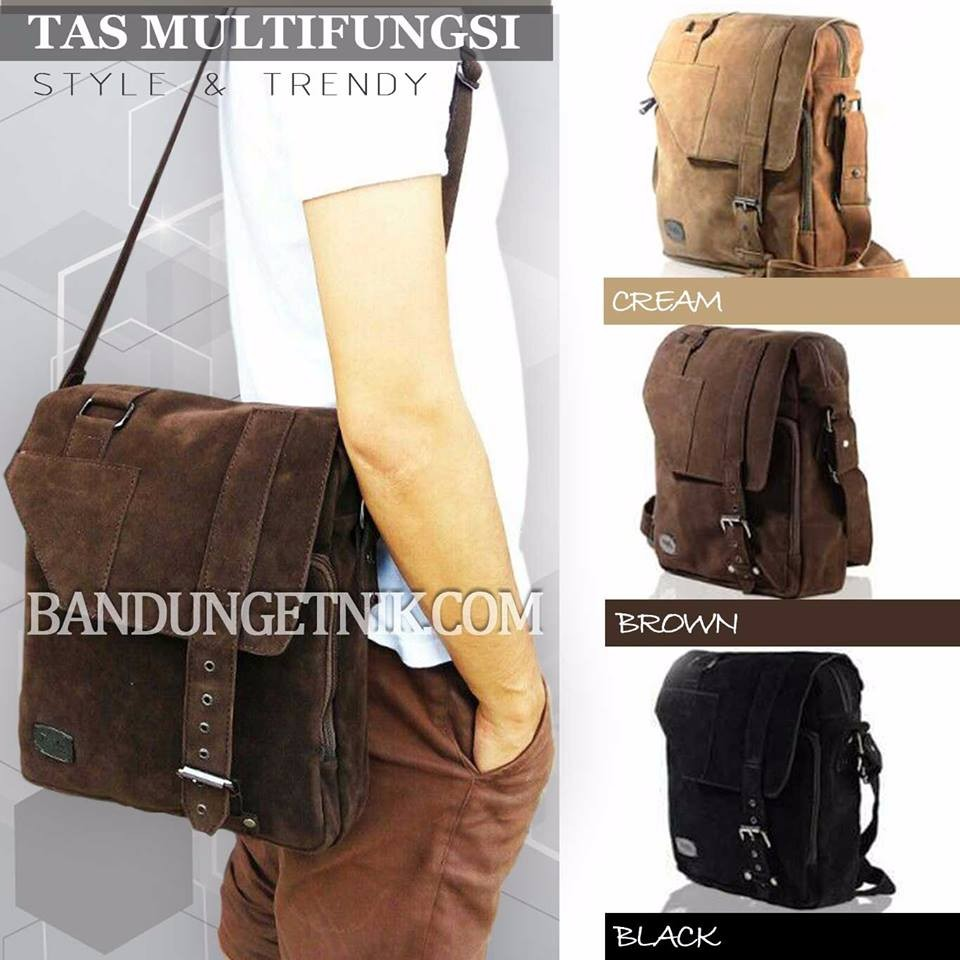 Tas tangan tas kerja pria impor - AKECHI vintage sling bag - tas kantor selempang tas jinjing | Shopee Indonesia