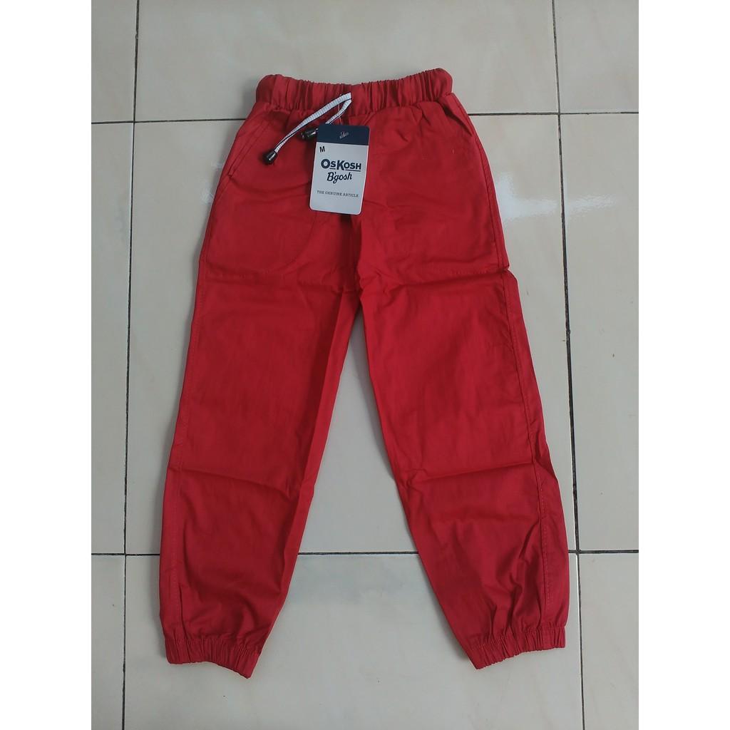 Celana Jogger Anak Usia 5 7 Tahun Shopee Indonesia Size 10 8 9t Joger Oshkosh Katun Strech