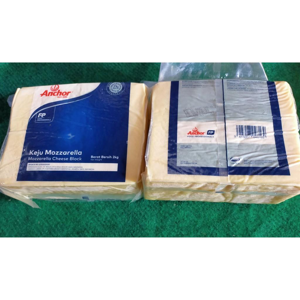 mozzarella anchor 2 kg keju termurah dan terlaris harga promo grosir supplier distributor