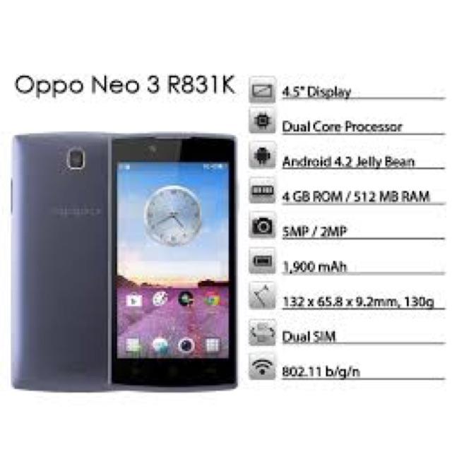 Smart Phone Oppo Neo 3 R831k Navy Shopee Indonesia