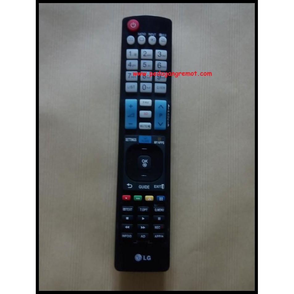 TERUJI Remot/Remote TV LG LCD/LED Plasma Smart 3D/3Dimensi AKB73615303 KW BERMUTU