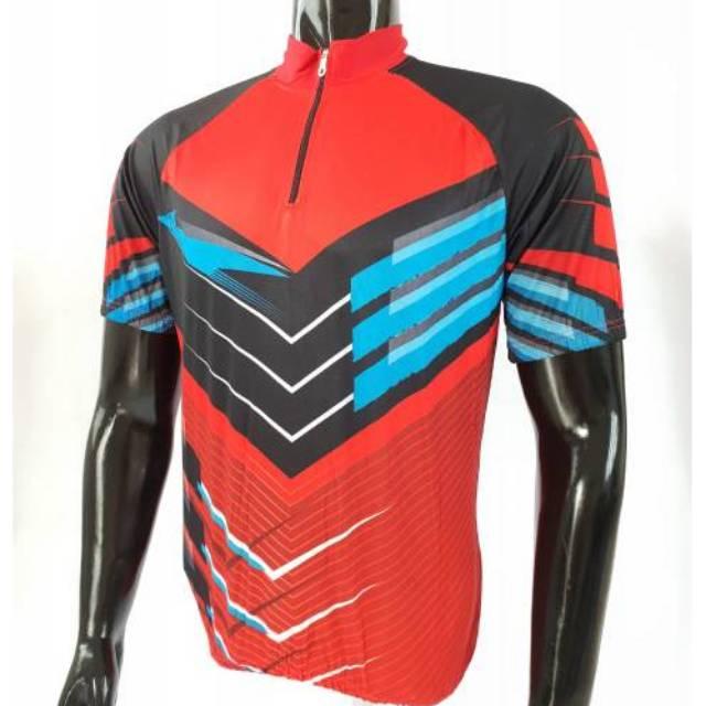 Jersey sepeda kantong belakang pendek Shopee Indonesia