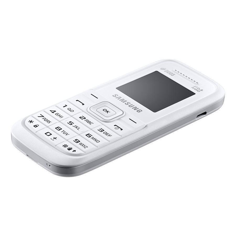 Samsung Galaxy Keystone 3 Sm B109e White Piton B310e Handphone