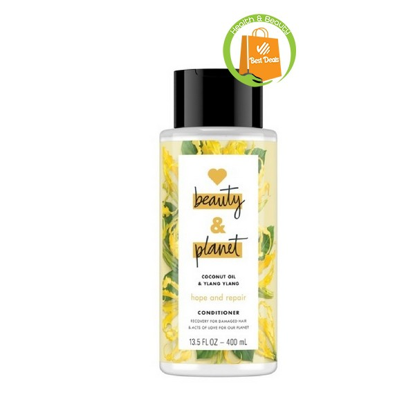 Love Beauty And Planet Shampoo Hope Repair 200ml Coconut Oil Ylang Ylang Hair Care Shopee Indonesia