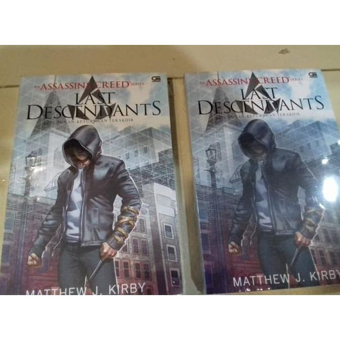 Top Buku Novel Fantasy Assassins Creed Series The Last