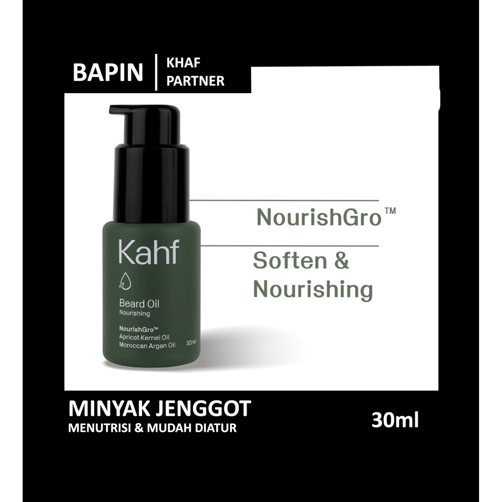 Kahf Nourishing Beard Oil 30 ml