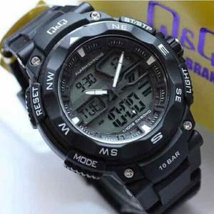 Jam Tangan Analog Digital Qq Gw 85j Qnq Gw85j Jam Tangan Q Q Gw85 Ori Shopee Indonesia