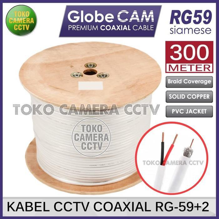 [CCTV] Kabel CCTV Coaxial RG59 Siamese SECURE 1 Roll