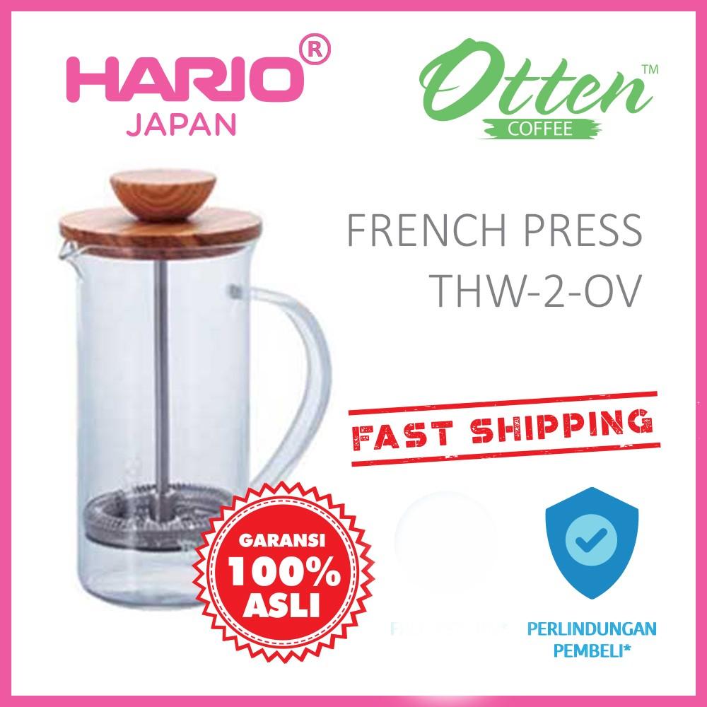 Otten Coffee French Press 600ml Shopee Indonesia Best Plunger 600 Ml Saringan Kopi Teh