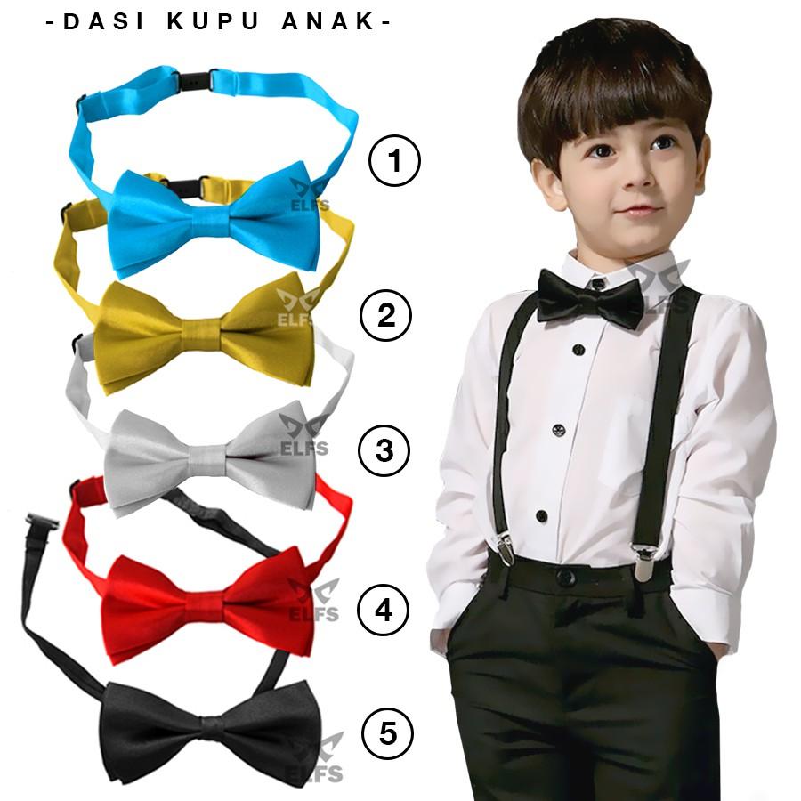 Dasi Kupu Bow Tie Polos With Box Mewah Shopee Indonesia Bowtie Motif Wedding Best Man Polka Black