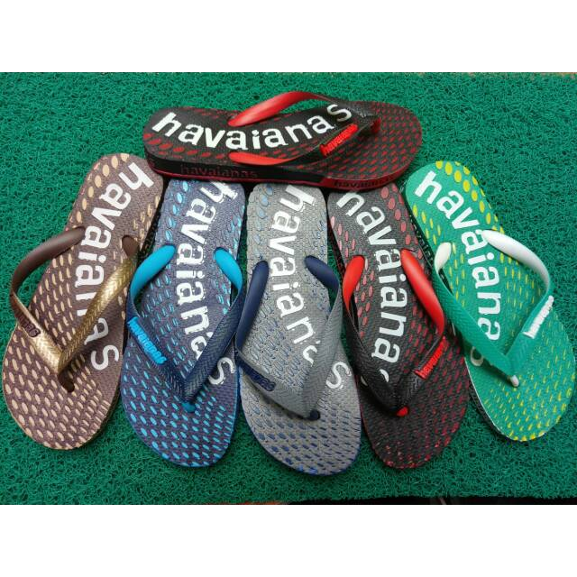 Sandal havaianas lips B03 variasi .