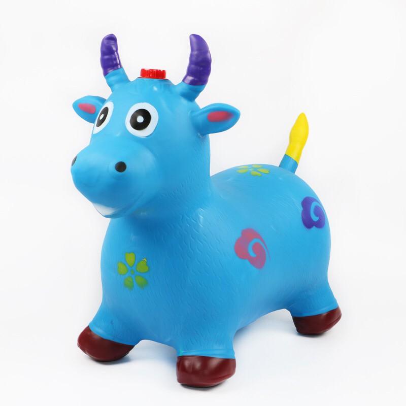 (Grade A) Animal Jumping Lampu Musik  Mainan Rusa Karet  Mainan Kuda  Karet Mainan Kambing  1ae56ec7e1