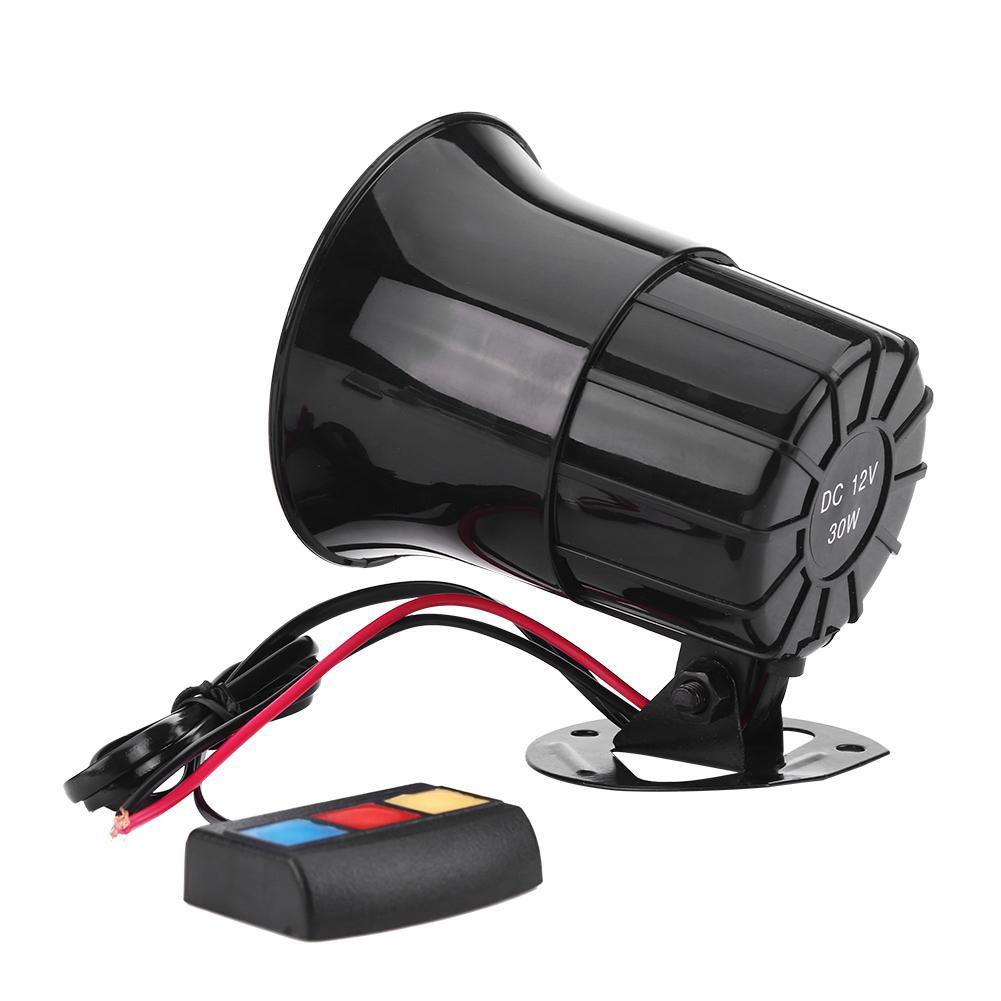 12V 20W Car Motor Truck Auto Bike Vehicle Security Alarm Warning Bell Siren Horn