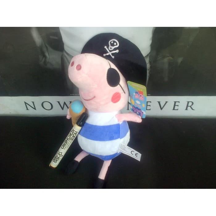Boneka peppa pig family isi 4 set Ori peppa george Besar bear dino Original  tangan 164bbb099c