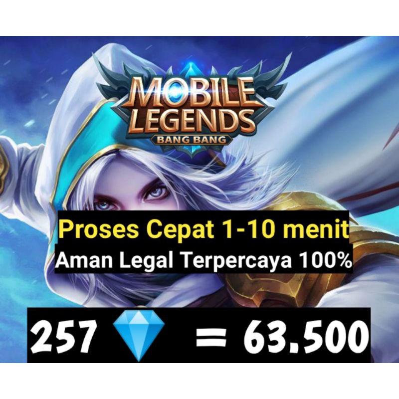 Diamond Mobile Legends/257/Diamond