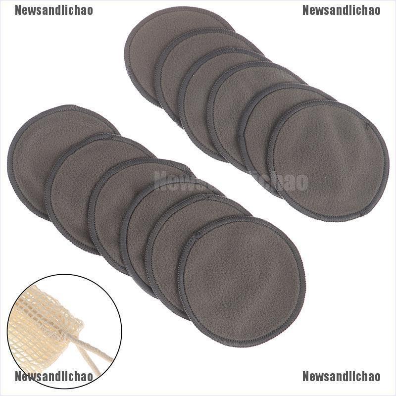 5 pack Bamboo Fleece Reusable Makeup Remover Pads