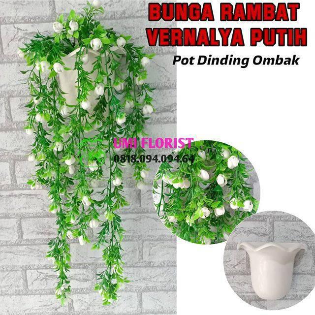 Bunga Wisteria Artificial (Panjang 190 cm)   Westeria Juntai   Wistaria  Rambat   Dekorasi Pernikahan  7396c3a985