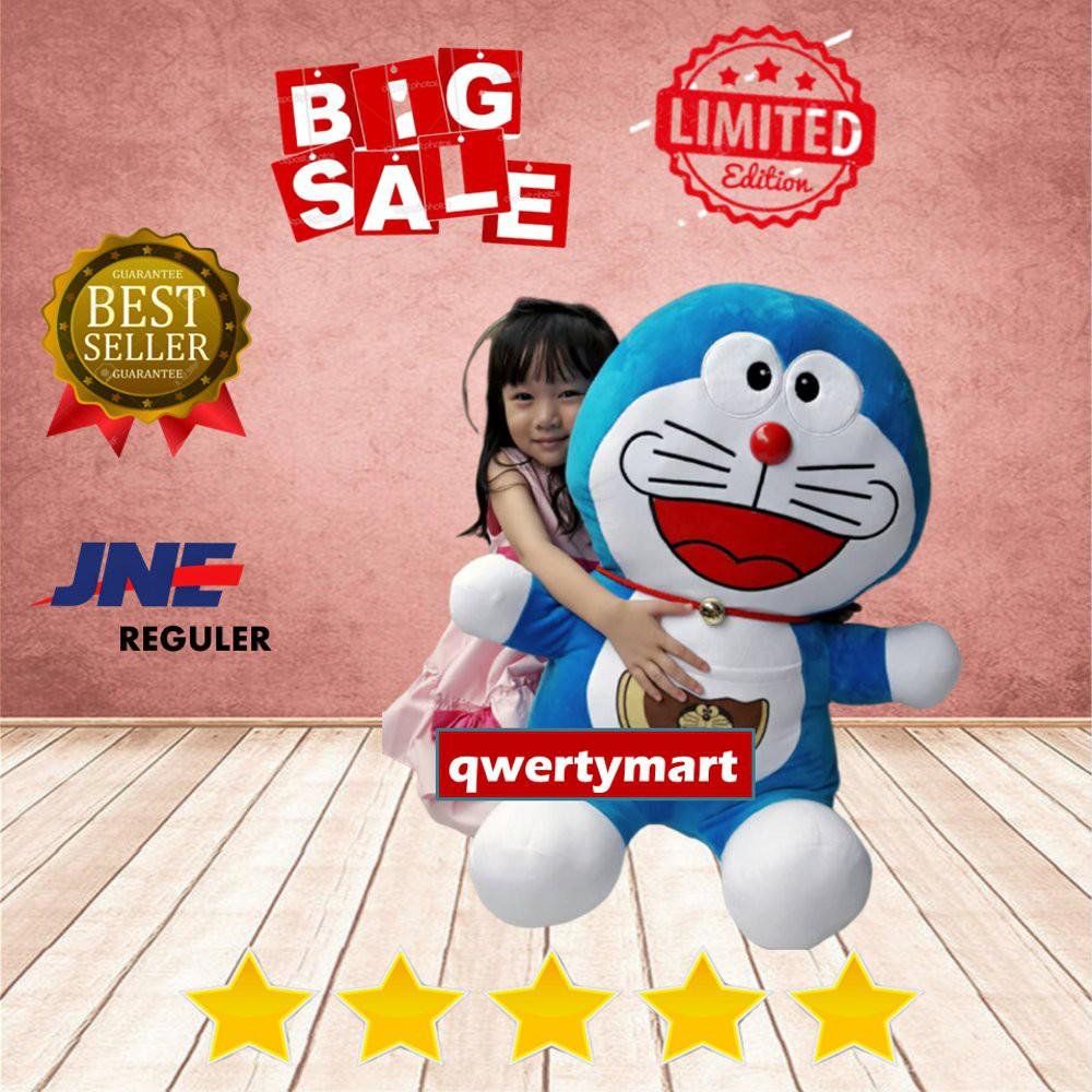 Ready Stock Boneka Doraemon Ukuran Super Jumbo Giant Size Boneka Wisuda Teddy Bear Boneka Kartun