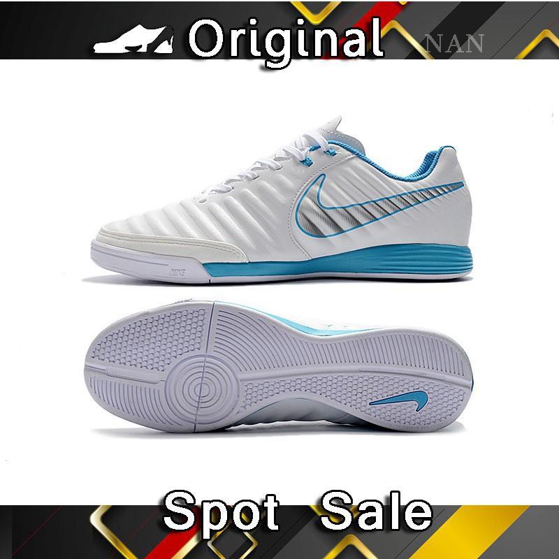 efa2cf95c11 Sepatu Bola Desain Nike Tiempo Lite IV IC Indoor Low whtie Ukuran 39 ...