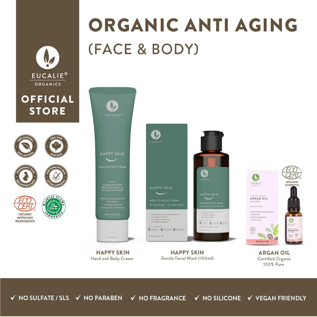 Eucalie Paket Organic Anti-Aging (Face Body)