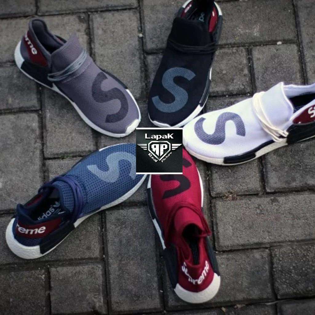 c2bea2fda Sepatu adidas human race supreme slip on 40 44 grade original vhietnam