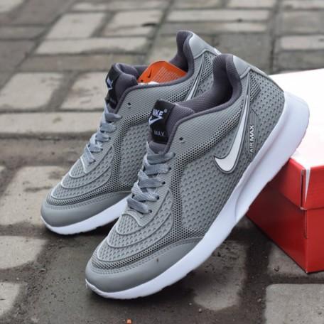 sepatu nike supreme pria wanita air max cewek putih slip on sneakers hitam  import sekolah kuliah  a67eccb799