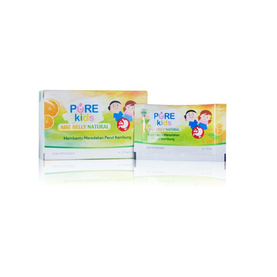 Pure Kids Purekids Aise Belly Purebaby Baby Gripw Water Isi 4 60ml Sachet 10ml Shopee Indonesia