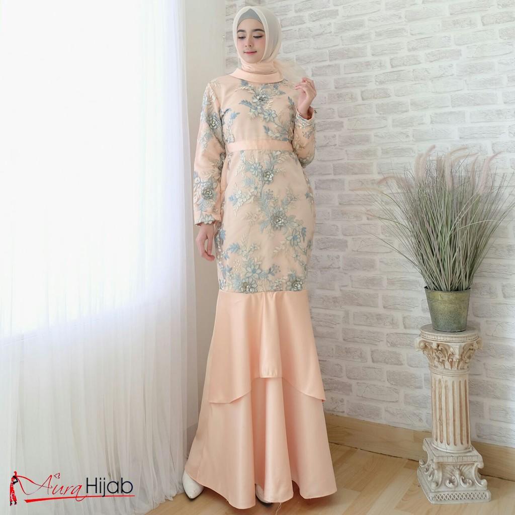 Ashanti mermaid//gaun pesta/gamis muslim/baju duyung