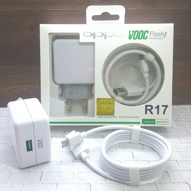 CHARGER ORI 100% OPPO VOOC R17 R15 TC ORIGINAL 4A | Shopee Indonesia